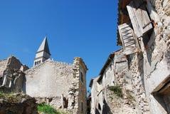 Byggnader i Pican Arkivbild