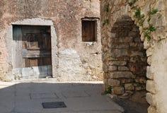 Byggnader i Pican Arkivfoto