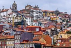 Byggnader i Porto Royaltyfria Bilder