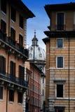 Byggnader i Rome Arkivfoto