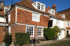 Byggnader i Rye, östliga Sussex, UK arkivfoto