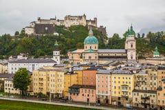 Byggnader i Salzburg Österrike Royaltyfri Foto