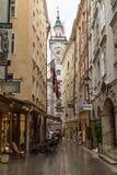 Byggnader i Salzburg Österrike Royaltyfri Fotografi