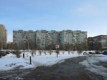 Byggnader i samaraen, Ryssland Arkivbild