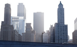 byggnader i stadens centrum chicago Royaltyfri Foto
