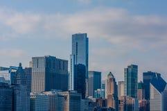 byggnader i stadens centrum chicago Arkivbilder