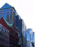 byggnader i stadens centrum toronto Arkivbild