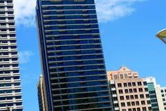 Byggnader i Sydney, Australien Fotografering för Bildbyråer