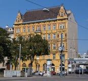 Byggnader i Wien royaltyfri fotografi
