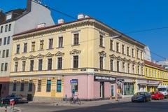 Byggnader i Wien royaltyfria foton