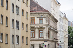 Byggnader i Wien arkivbilder