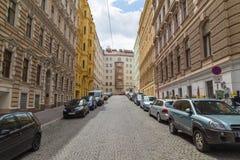 Byggnader i Wien arkivfoton