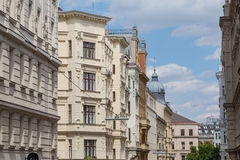 Byggnader i Wien fotografering för bildbyråer