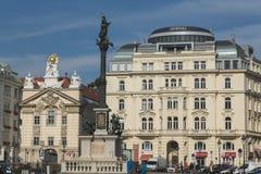 Byggnader i Wien royaltyfri foto
