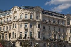 Byggnader i Wien under dagen royaltyfri fotografi
