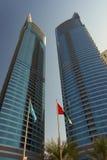 byggnader moderna dubai Royaltyfri Foto