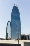 byggnader moderna dubai Arkivbild