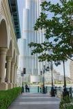 byggnader moderna dubai Arkivbilder