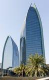 byggnader moderna dubai Arkivfoton