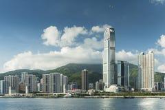 byggnader moderna Hong Kong Royaltyfri Bild