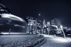 byggnader moderna Hong Kong Royaltyfri Fotografi