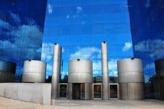 byggnader moderna lisbon Royaltyfri Bild