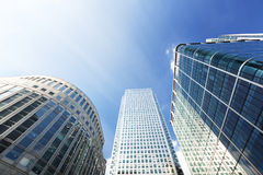 byggnader moderna london Royaltyfria Foton