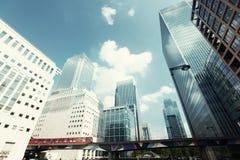 byggnader moderna london Royaltyfri Bild