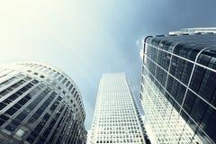 byggnader moderna london Arkivbild
