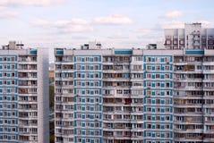 byggnader moderna moscow royaltyfria bilder