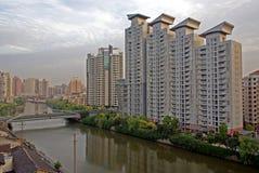 byggnader moderna shanghai Royaltyfria Bilder