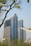 byggnader moderna shanghai Royaltyfri Foto