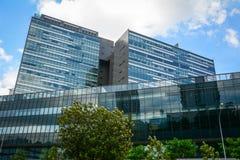 byggnader moderna singapore Arkivfoton