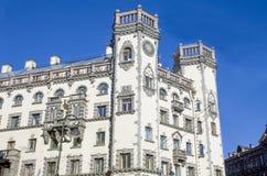 Byggnader och arkitektur Petersburg av Ryssland Royaltyfri Fotografi