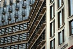 Byggnader på det Leipziger stället i Berlin, Tyskland royaltyfria foton