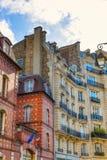 Byggnader på Ilen de la Citera i Paris Royaltyfri Foto