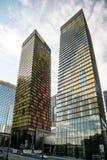 Byggnader på Las Vegas Nevada Royaltyfria Bilder