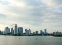 byggnader singapore Arkivbild