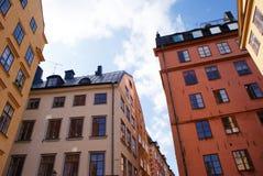 byggnader stockholm sweden Royaltyfri Foto