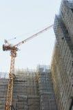 Byggnader under konstruktion Arkivbild