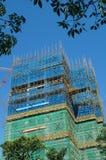 Byggnader under konstruktion Arkivfoto