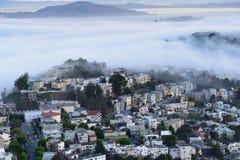 Byggnaderna i San Francisco fotografering för bildbyråer