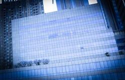 byggnadsaffär, företags byggnad, glass kontorsbyggnader Fotografering för Bildbyråer