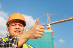 Byggnadsarbetare Arkivfoton