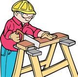 byggnadsarbetare Arkivbilder
