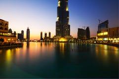 byggnadsburjdubai mest högväxt värld Royaltyfri Foto