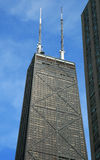 byggnadschicago hög stigning royaltyfri bild