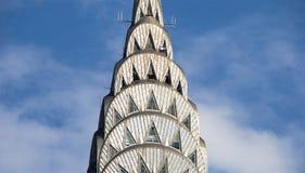 byggnadschrysler spire Fotografering för Bildbyråer