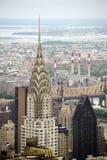 byggnadschrysler stad New York Royaltyfri Bild
