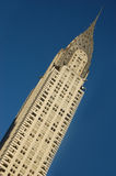 byggnadschrysler stad New York Arkivbilder